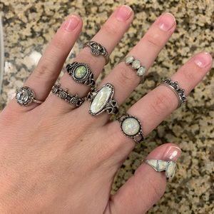 Nasty Gal Jewelry - Ring Set